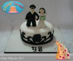 Tarta aniversario boda