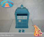 Tarta Doctor who