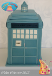 Tarta La tardis doctor who