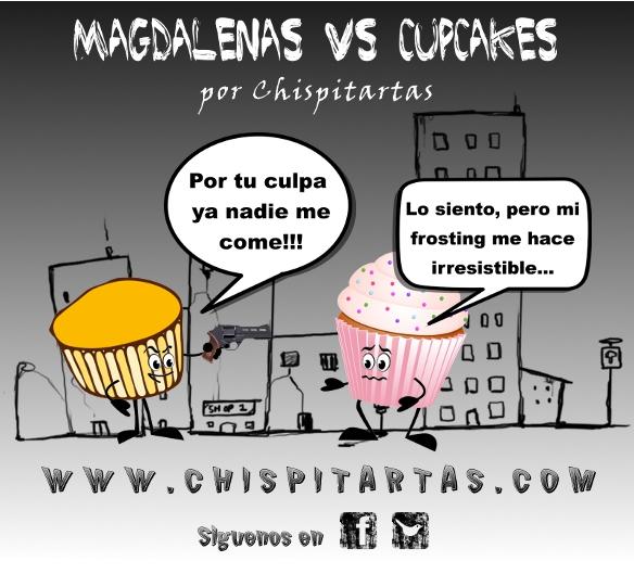 Magdalenas vs Cupcakes