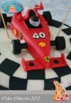 Tarta coche formula 1