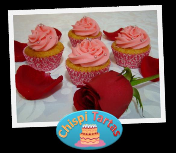 Cupcakes de manzana pink lady