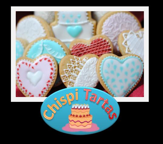 galletas de corazones