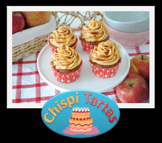 cupcakes strudel de manzana