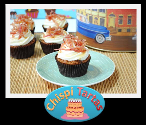 Cupcakes con baicon